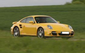 Porsche 911 Turbo (997) - 2007 - Jaune Vitesse